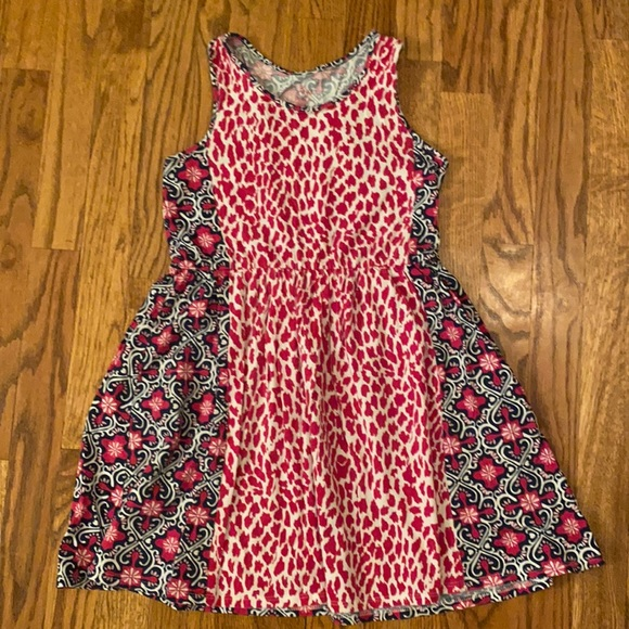 Children's Place -Cotton Contrasting Fabrics Dress